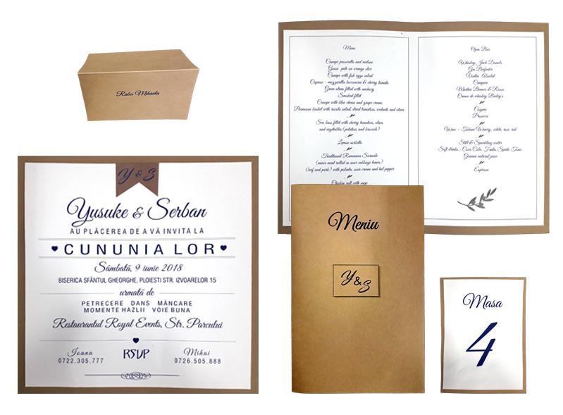 Servicii De Tipar Digital In Bucuresti Meniuri Invitatii Nunta
